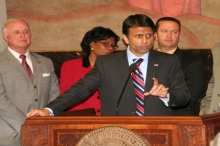 Governor Jindal speaks about budget reform