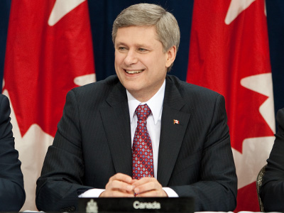 Stephen Harper Wins Majority