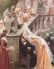 Alain Chartier - Edmund Blair Leighton - 1903
