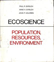 The book authored by John Holdren, Obama's science czar