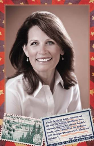 Michele Bachmann is Miss November in new Clare Boothe Luce 2010 calendar