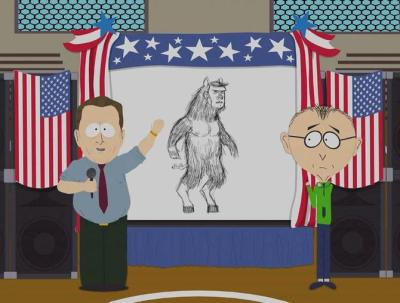 Is ManBearPig to blame for global warming?