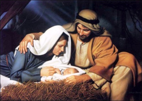 The Son of God became flesh and dwelt among us
