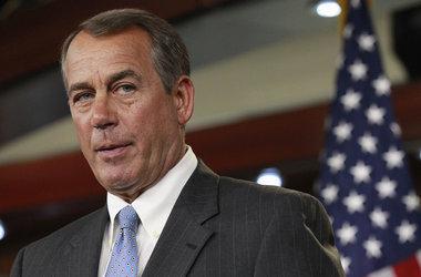 Republican Speaker John Boehner