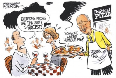 The Tea Party loves Herman Cain