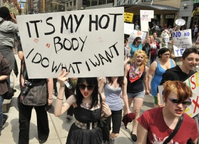 Feminism and slut walks