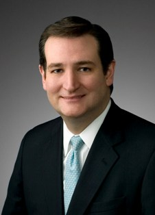 Republican Senate candidate Ted Cruz