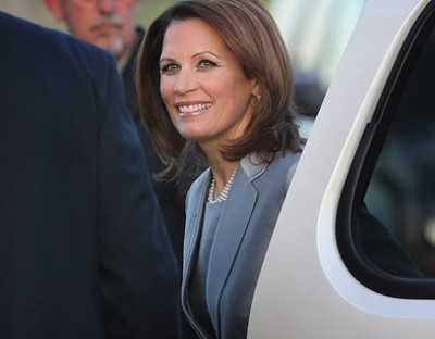 Michele Bachmann at the Iowa Debate