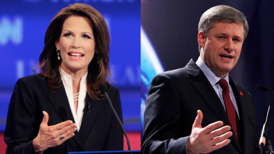 Michele Bachmann should adopt Stephen Harper's plan