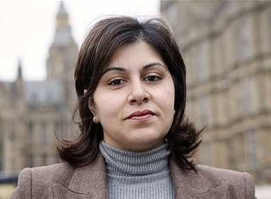 Conservative MP Sayeeda Warsi