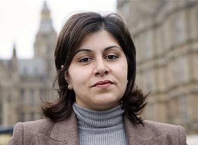 Conservative MP Sayeeda Warsi
