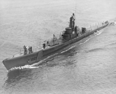 A Balao class diesel-electric submarine