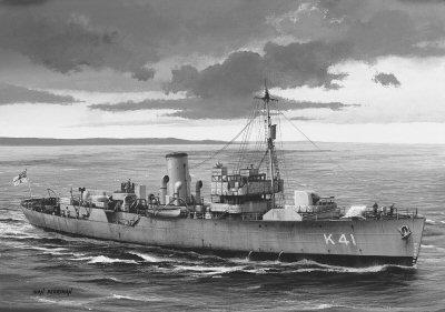 Flower class escort ship