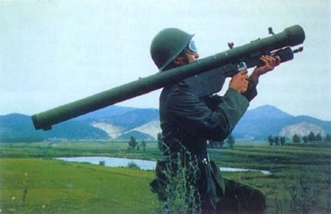 SA-7 Grail with Russian Strela-2 missile