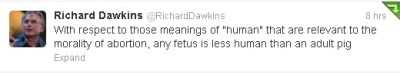 Richard Dawkins explains morality on atheism
