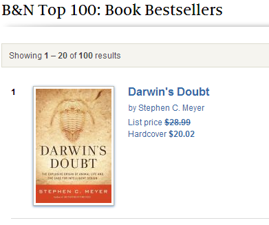 Darwin's Doubt #1 at Barnes and Noble