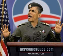 "Baghdad Obama says: ""There are no Russian tanks in Ukraine"""