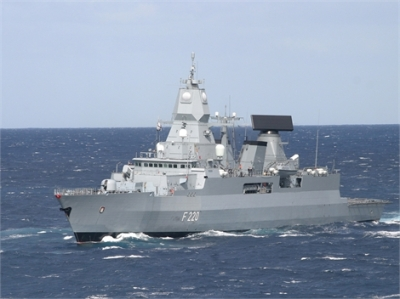 FFG Saschen class guided missile frigate