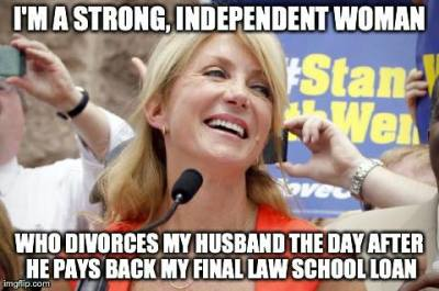 Wendy Davis: Feminist champion and independent woman