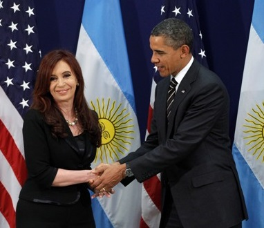 Are Barack Obama and Cristina Kirchner very different?