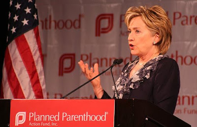 Hillary Clinton addresses Planned Parenthood