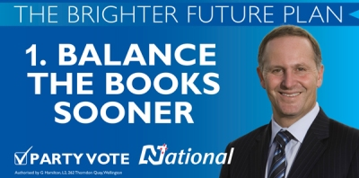 National Party leader John Key