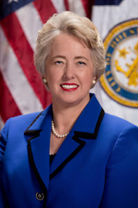 Houston's openly gay mayor, Annise Parker