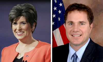 Joni Ernst vs Bruce Braley