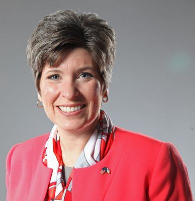 Iowa senator Joni Ernst