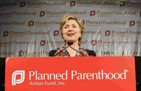 Hillary Clinton and Planned Parenthood