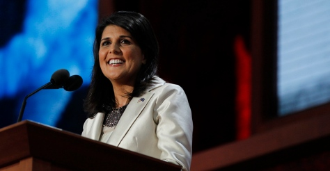 South Carolina Governor Nikki Haley