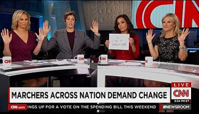 CNN reporters spread lies about Ferguson