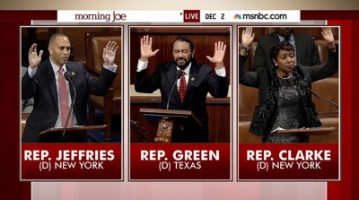 "Democrats say ""hands up!"""