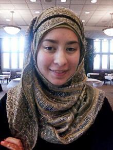 Muslim student Farah ElJayyousi