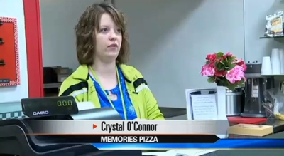 Crystal O'Connor, victim of bullying by gay activists