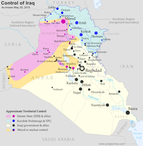 Control of Iraq (click for larger image)