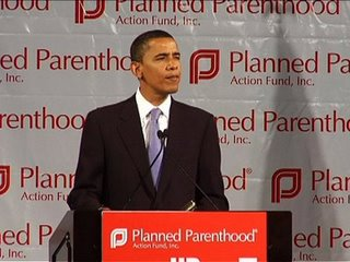 Barack Obama and Planned Parenthood