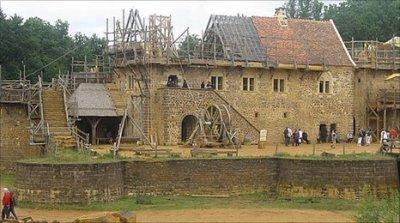 Building a castle isn't easy - it takes work