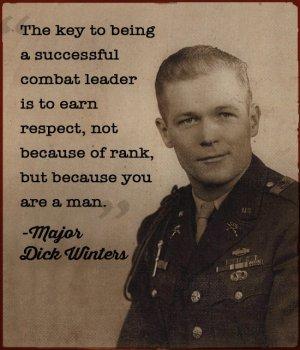 Major Richard Winters, U.S. Army Airborne