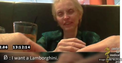 Planned Parenthood senior executive: organ harvesting so she can get a Lamborghini