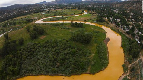 EPA dumps 1 million gallons of mining waste into river