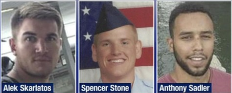Three American heroes rescue civilians from Islamic terrorist
