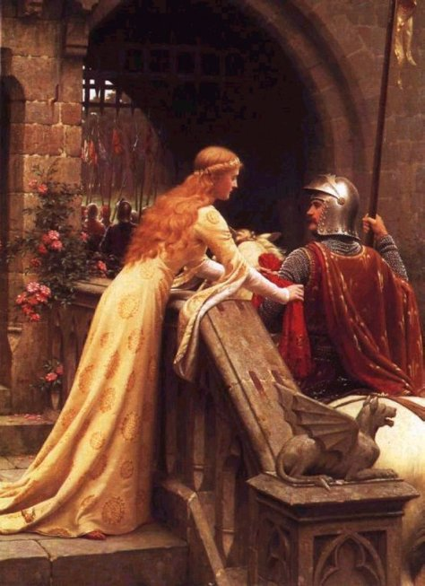 "My favorite painting: ""Godspeed"" by Edmund Blair Leighton, 1900"