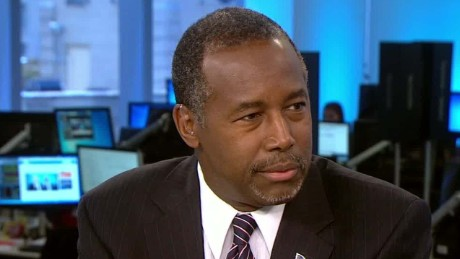 Pediatric surgeon Ben Carson