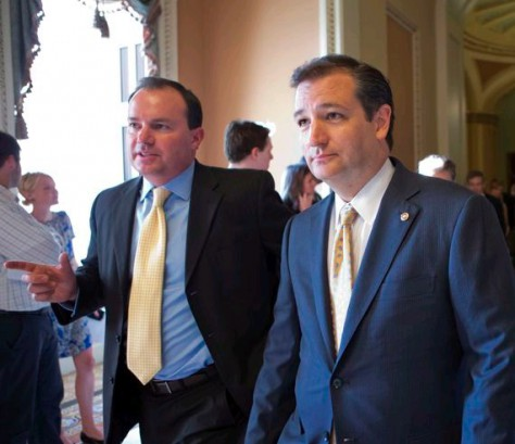 Ted Cruz and Mike Lee go to war against amnesty