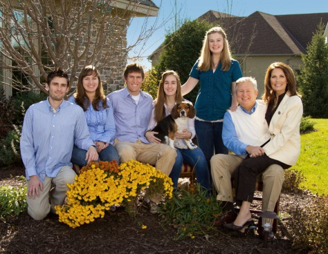 Marcus and Michele Bachmann and family