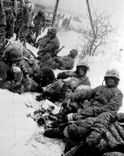 "U.S. Marines ""The Chosin Few"", December 1950"