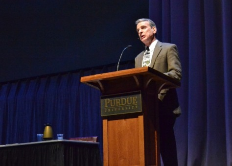 William Lane Craig lecturing to university students