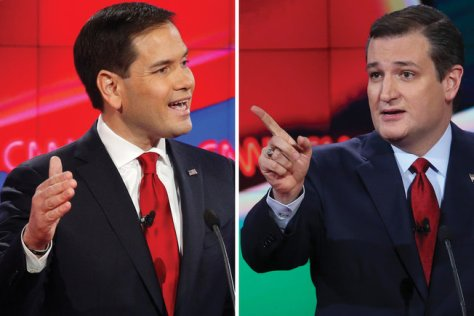 Ted Cruz vs Marco Rubio