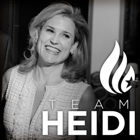 Heidi Cruz, a beautiful, intelligent, hard-working, successful woman